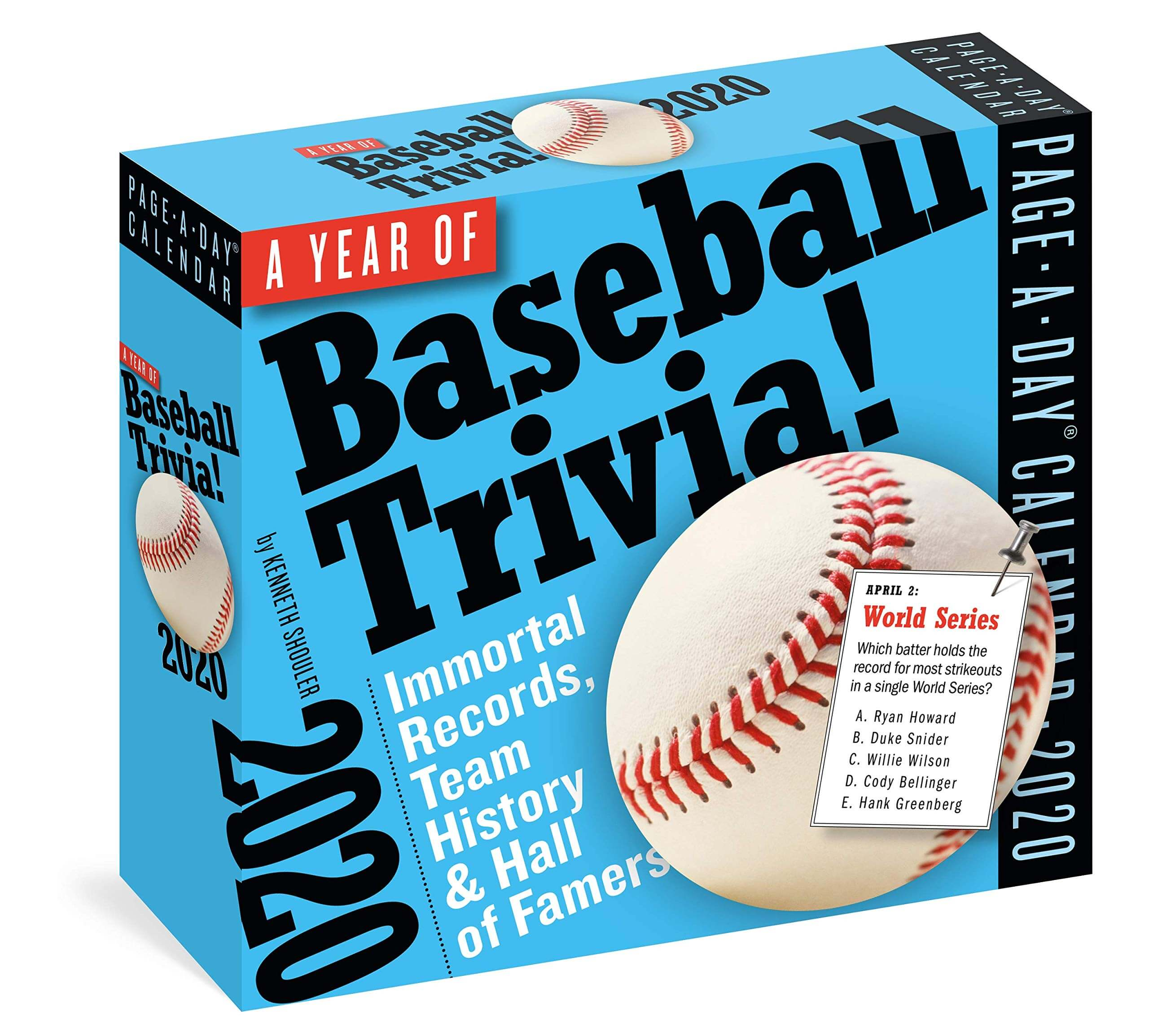 A Year of Baseball Trivia!