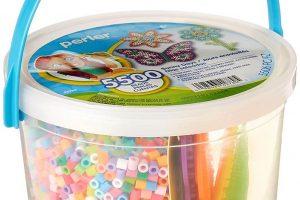 Perler Sunny Days Bright Color Fuse Bead Bucket