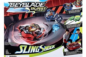 BEYBLADE Burst Turbo Slingshock Rail Rush Battle Set