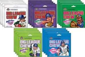 Big League Chew Bubble Gum Variety Pack