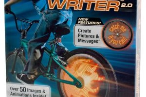 Sky Rocket Fuze Wheel Writer 2, 20'' Inch Wheel and Up