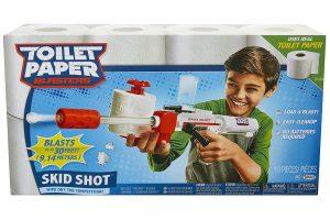 Toilet Paper Blaster Skid Shot