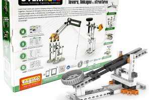 Discovering Stem: Levers, Linkages & Structures Building Kit