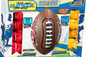Franklin Sports Flag Football Flags and Ball Set