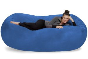 XL Memory Foam Stuffed Lounger Chairs for Kids