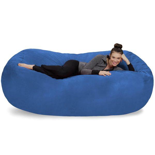XL Memory Foam Stuffed Lounger Chairs for Kids