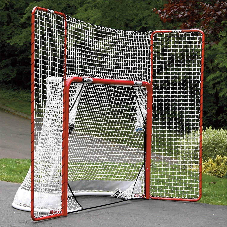 Folding Hockey Goal with Backstop
