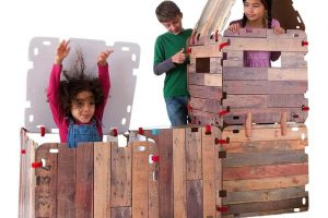 Fantasy Fort Kit - Pretend Play Construction Building Set