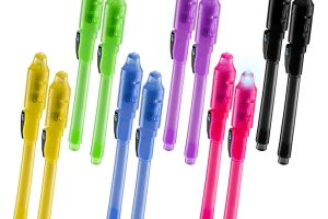 Invisible Disappearing Ink Pen