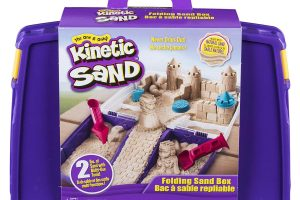 Folding Sand Box with 2lbs of Kinetic Sand