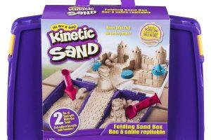 Folding Sand Box with 2lbs of Kinetic Sand