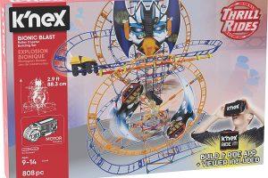 K'NEX Thrill Rides – Bionic Blast Roller Coaster Building Set