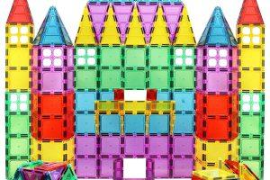 Magnet Build Deluxe 100 Piece 3D Magnetic Tile Building Set