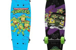 PlayWheels Teenage Mutant Ninja Turtles Wood Cruiser Skateboard