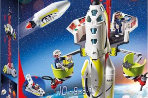 PLAYMOBIL® Mission Rocket with Launch Site