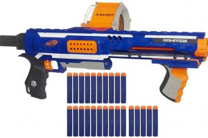 Nerf Rampage N-Strike Elite Toy Blaster for Kids and Teens