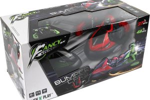 2 Stunt Remote Control RC Battle Bumper Cars with Drivers
