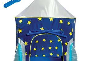 Rocket Ship Play Tent for Boys
