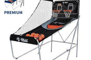 Shootout Basketball Arcade Game, Dual Shot w/ LED Lights, Scorer