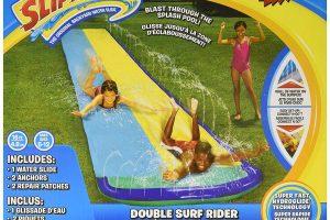 Wham-O Slip 'N Slide Surf Rider Double Sliding Lanes