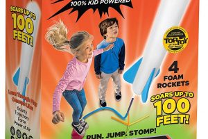 Stomp Rocket Jr. Glow Rocket