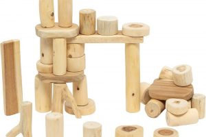 Constructive Playthings - Tree Blocks - 36 pc. Set