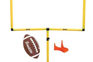 Youth Football Goal-Post — Football Goal Post with Mini Football